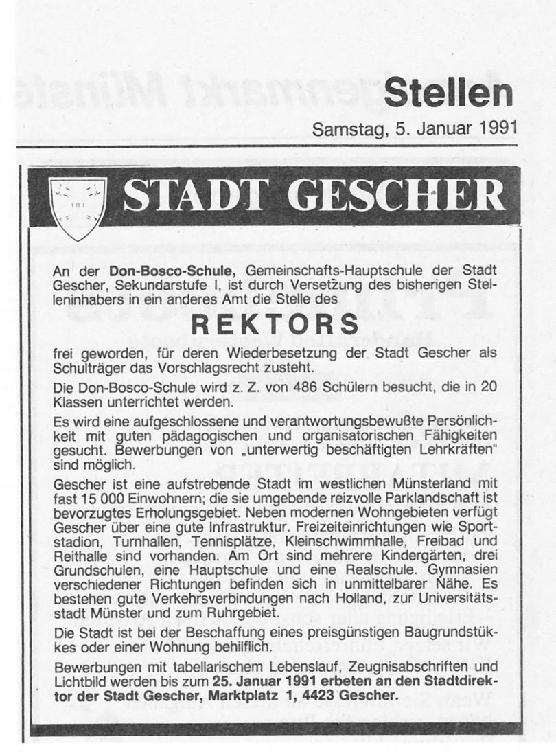 Ausschreibung Rektor 1991 (3)