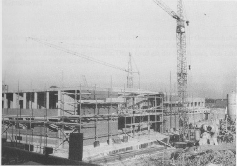Baustelle Hauptschule