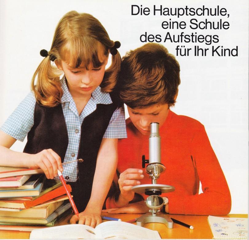 Cover Broschüre Hauptschule 1968